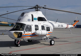 Pzl Mi-2 with AI-450M-B engines