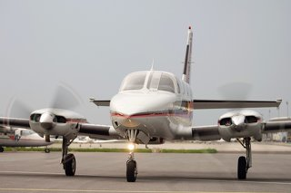 Cessna C 340 A II, RAM Conversion, 325 hp, Vortex Gen.- Q Tip Props, Aircindition, higher Grossweight, FULL SID